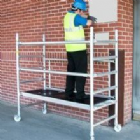 Ladders, Platforms, Storage, Racks, Dispensers and Recycling